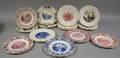 Twentythree Assorted Wedgwood University and College Ceramic Plates
