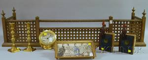 Group of Assorted Decorative Metal and Brass Items