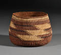 Northern California Twined Basketry Bowl