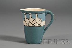 Saturday Evening Girls Pottery Childs Milk Pitcher