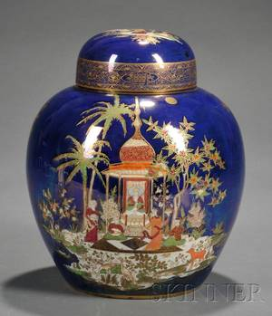 Carlton Ware Ginger Jar and Cover