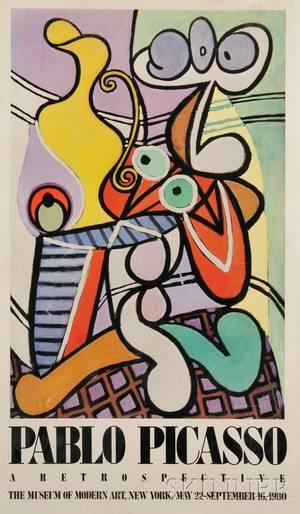 After Pablo Picasso Spanish 18811973 Pablo Picasso A Retrospective