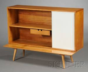 Paul McCobb Cabinet and Low Table