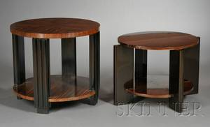 Two Art Deco Occasional Tables