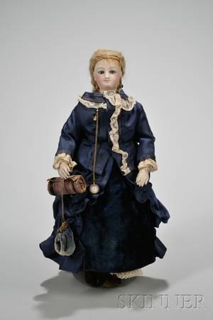 Bru French Fashion Bisque Head Doll