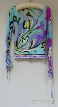 Vintage Pucci Patterned Silk Shirt