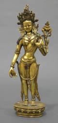 Giltbronze Maitreya