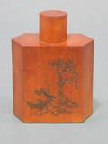 Bamboo Skin Tea Caddy
