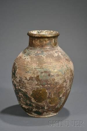 Seljuk Pottery Jar