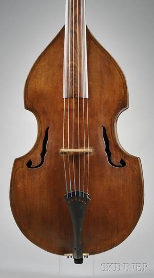 French Viola da Gamba c 1860