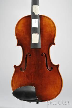 Modern Violin Roman Teller Erlangen 1971