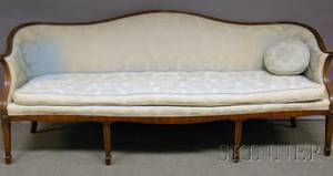 Four Pieces of Assorted Upholstered Furniture