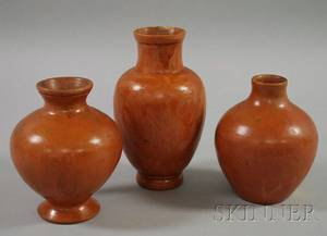 Three Pieces of Northampton Pottery