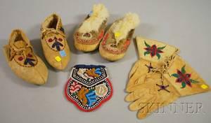 Native American Beaded Items