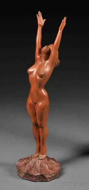 Figural Wood Sculpture