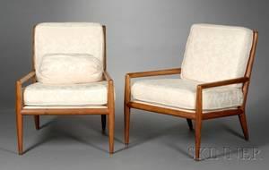Pair of MidCentury Modern Armchairs