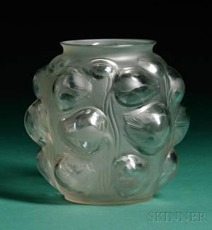 Rene Lalique Tulipes Vase