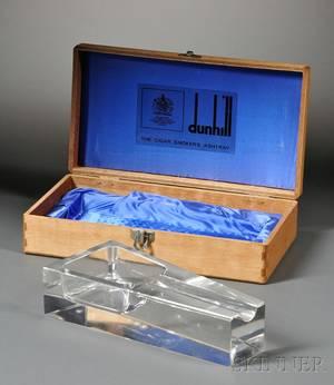 Alfred Dunhill Cigar Ashtray in Box