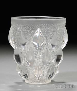 Rene Lalique Rampillon Vase