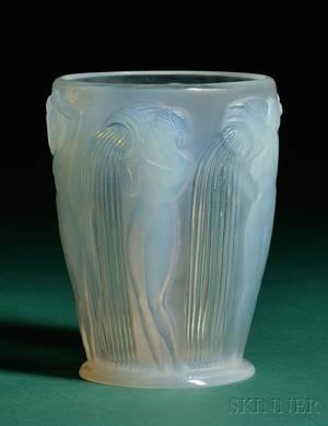 Rene Lalique Danades Vase