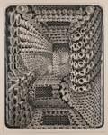 Gerald Lee Wise American b 1941 Two Ink Drawings Interior Workings