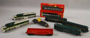 A C Gilbert Partial American Flyer Train Set