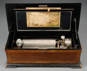 EightAir Sublime Harmonie Musical Box by Mermod Freres