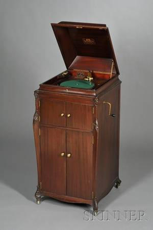 Mahogany Victrola by the Victor Talking Machine Company