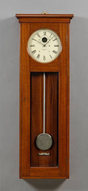 Mahogany No 89 Wall Regulator by E Howard  Company