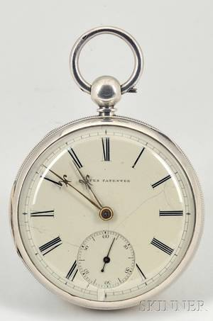 Silver Consular Case HalfSeconds Beating Watch by Thomas Yates