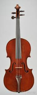 French Violin Hippolyte Chretien Silvestre Paris 1896