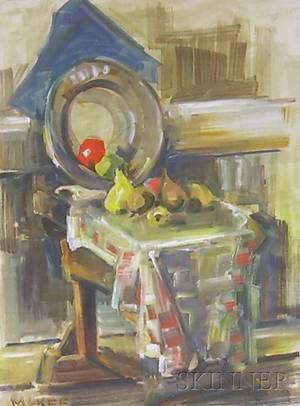 Two Framed Oil on Canvasboard Works by Dorothy Waterhouse McKee American 18981949