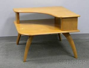 HeywoodWakefield Maple Corner Table