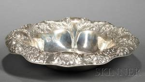 Gorham Sterling Art Nouveau Serving Bowl