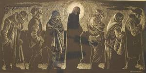 Fritz Eichenberg American 19011990 Christ of the Bread Line