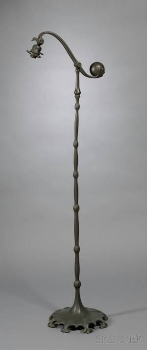 Tiffany Studios Counter Balance Floor Lamp