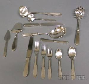 Georg Jensen Mitra Flatware and Serving Pieces