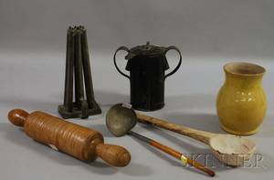 Six Assorted Country Domestic and Kitchen Items
