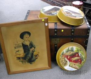 Six Assorted Country Decorative Items