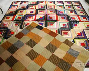 Patchwork Quilt and Wool Quilt