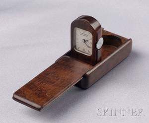 Exotic Wood Purse Watch Van Cleef  Arpels