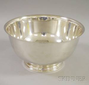 International Sterling Silver Punch Bowl