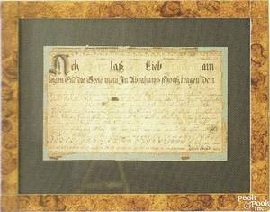 Pennsylvania fraktur vorschrift dated