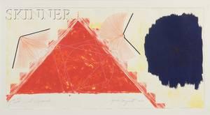 James Rosenquist American b 1933 Red Pyramid