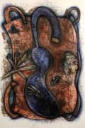 Elizabeth Murray American 19402007 Blue Body