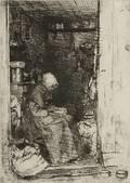 James Abbott McNeill Whistler American 18341903 La vieille aux loques