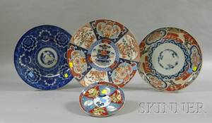 Four Imari Serving Pieces