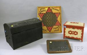 Four Wooden Items