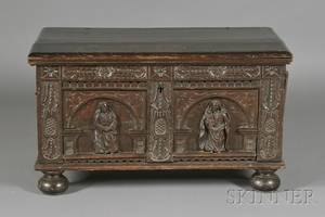 Jacobean Carved Oak Blanket Chest