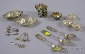 Approximately Eighteen Pieces of Sterling Silver Table and Flatware